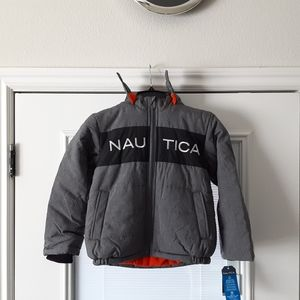 Nautica fleece lined bubble jacket